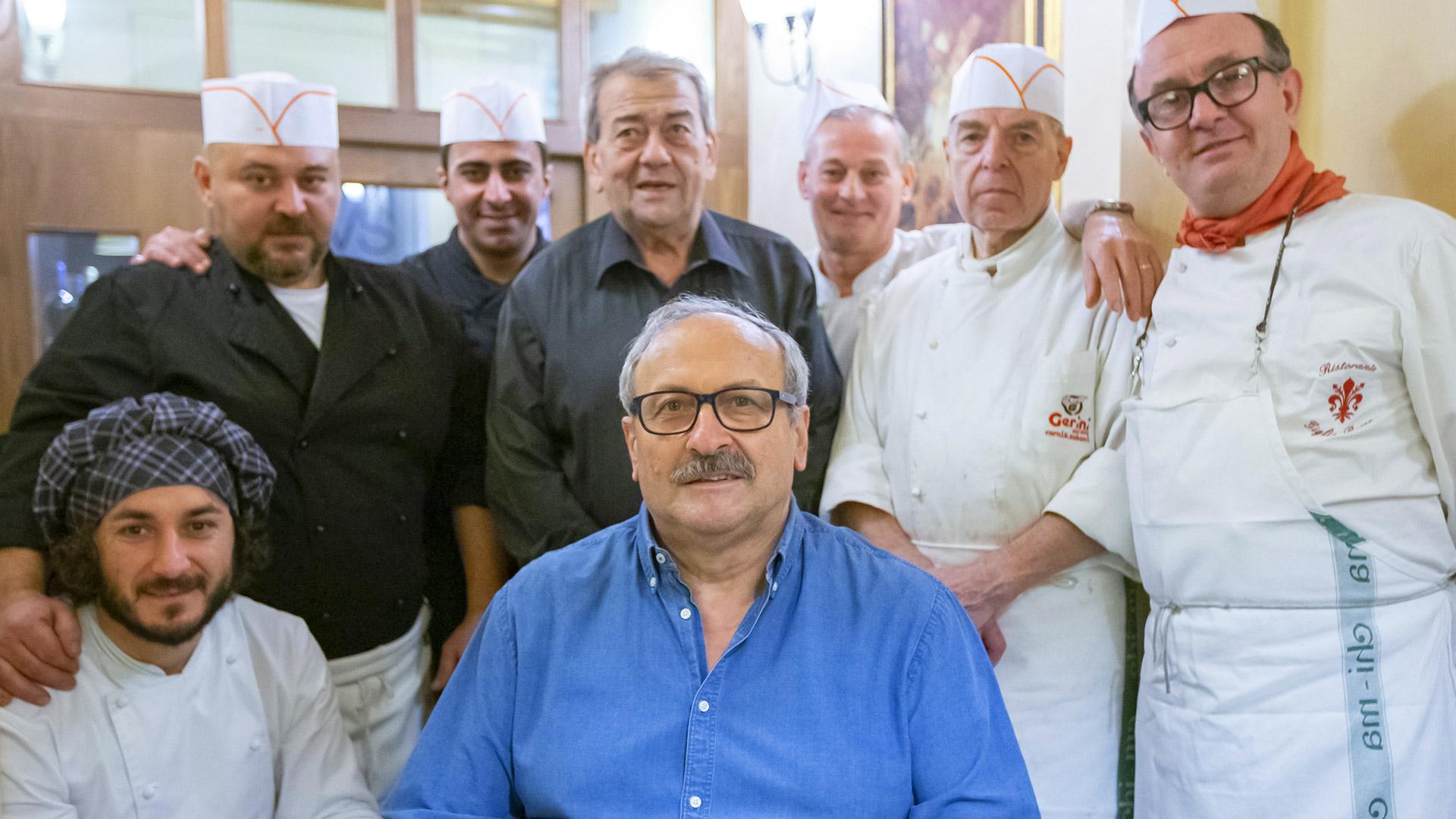 Staff Giglio Rosso - Piatti toscani dal 1928
