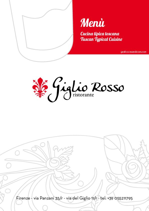 Specialità Toscane - Sfoglia il Menu del Giglio Rosso Ristorante