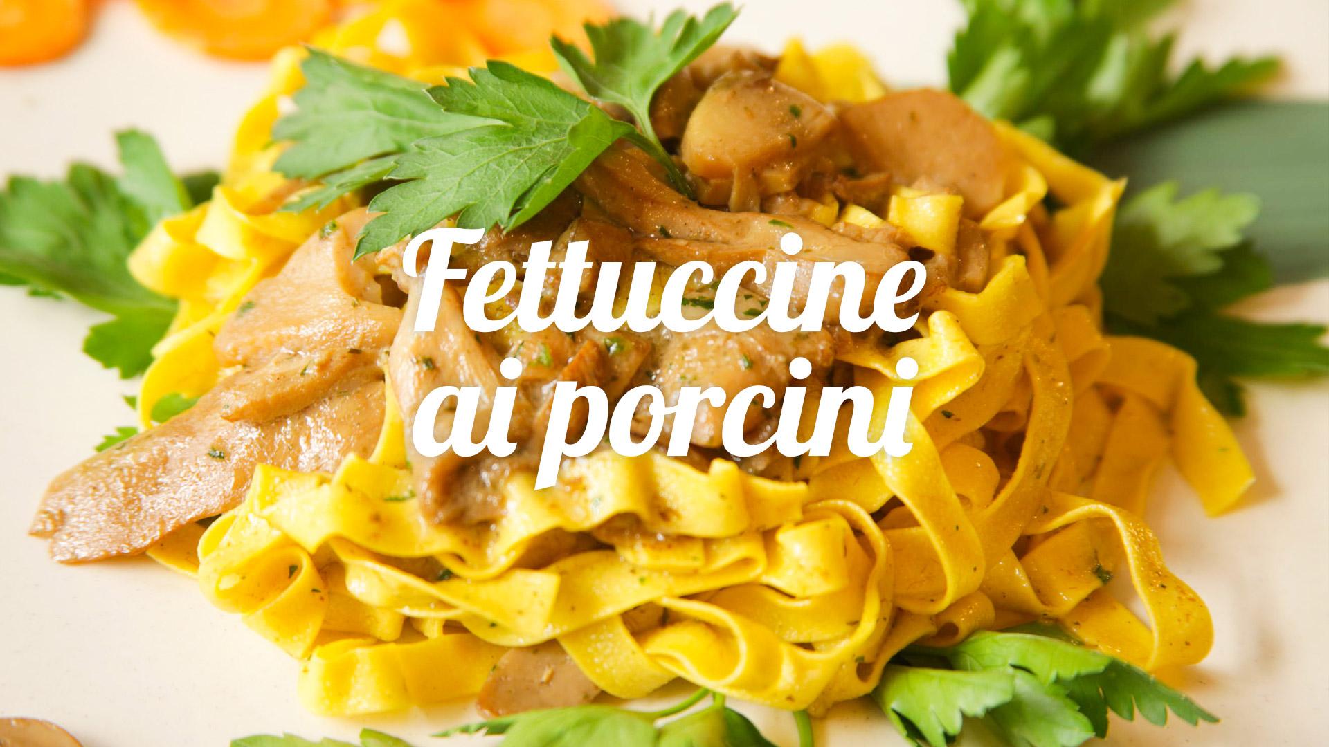 fettuccine-porcini