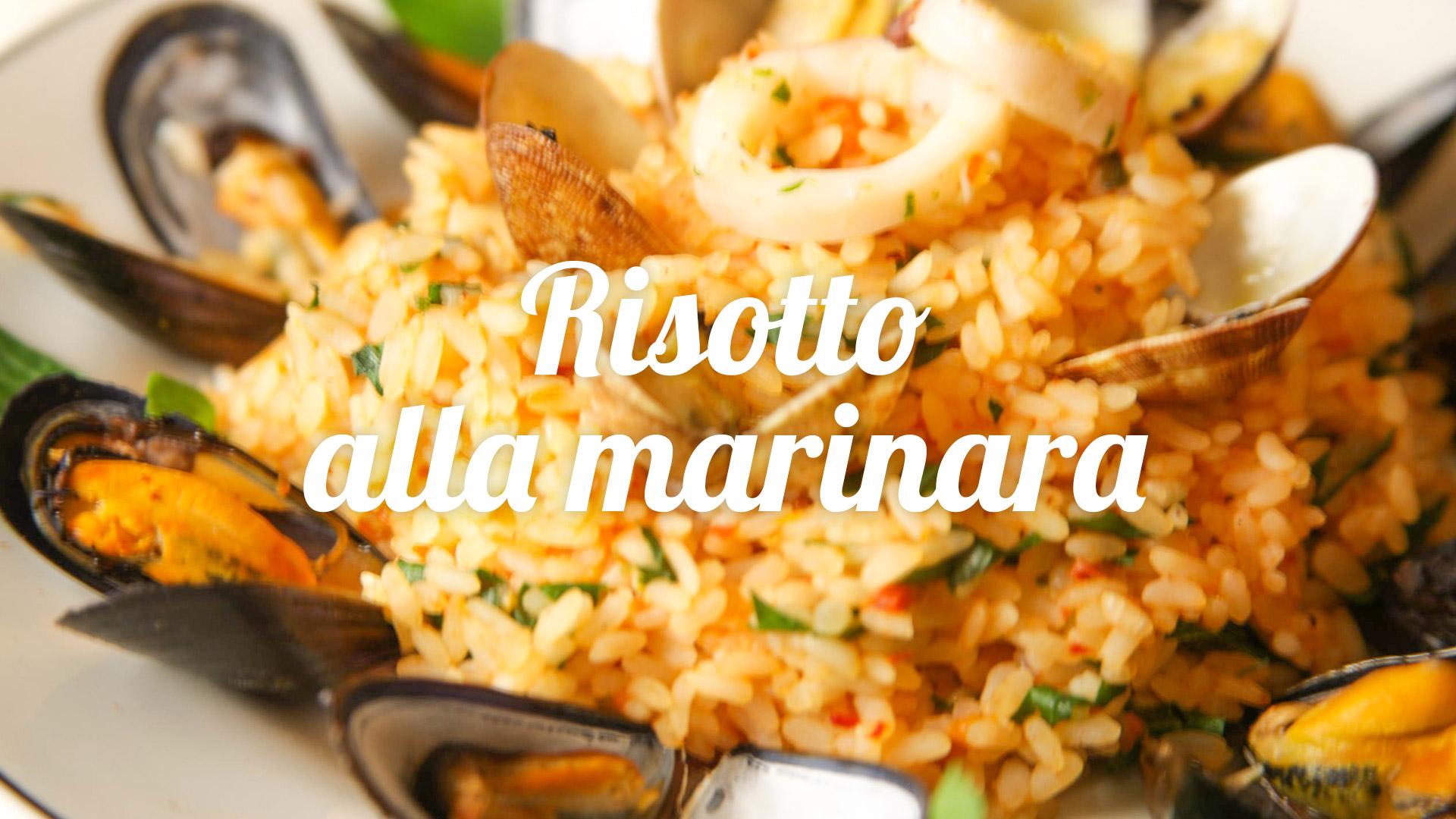 risotto-marinara