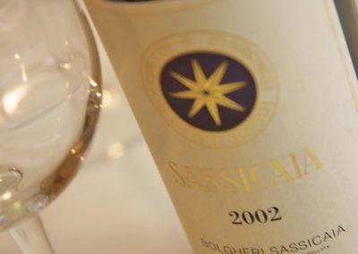 sassicaia - vini rossi toscani - Carta dei vini Giglio Rosso Firenze