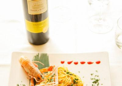 Primi piatti di pesce - Ristorante Giglio Rosso