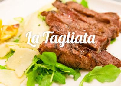 tagliata - cucina tipica toscana Ristorante Firenze Giglio Rosso